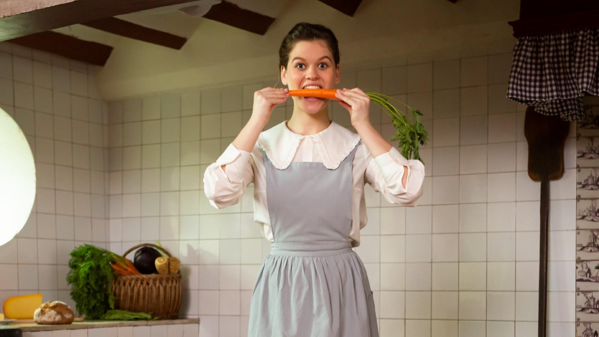 Kidsproef, keukenmeid met wortel